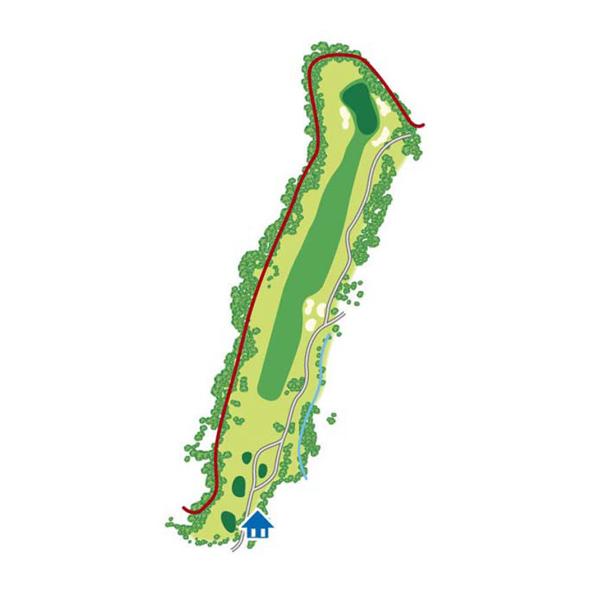 east(東)Course Hole5