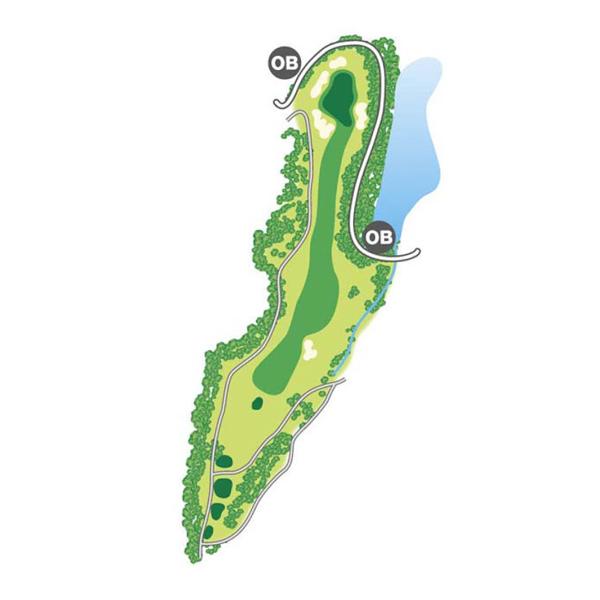 east(東)Course Hole6