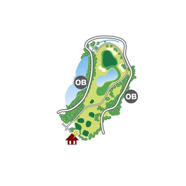 east(東)Course Hole8