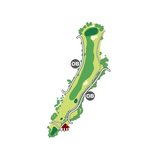 south(南)Course Hole3