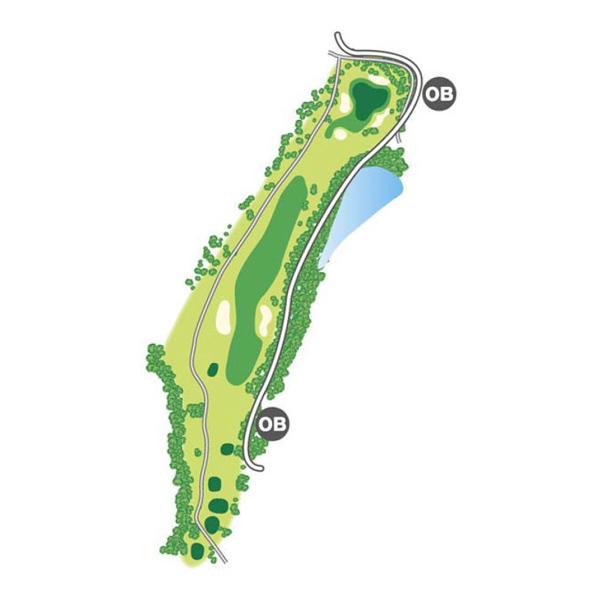 south(南)Course Hole4