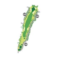 south(南)Course Hole5