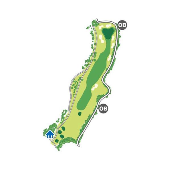 south(南)Course Hole6