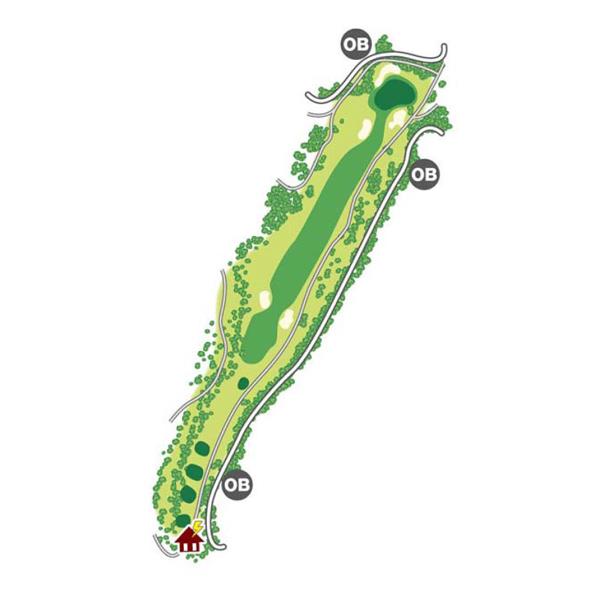 south(南)Course Hole7