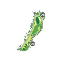 south(南)Course Hole8