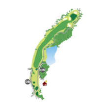 south(南)Course Hole9